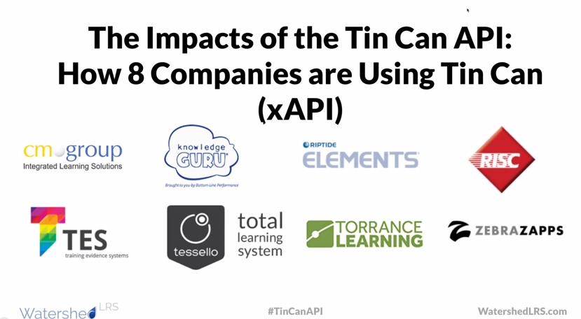 8 Companies are Using the Tin Can API (xAPI